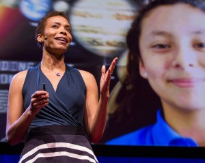 Astronomer, Astrobiologist, and Actress Aomawa Shields Encourages Young Girls to Consider STEM Careers.