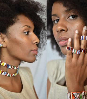 Shop This.  Support Maasai Women Artisans With Original Authentic Accessories from Idia'Dega.