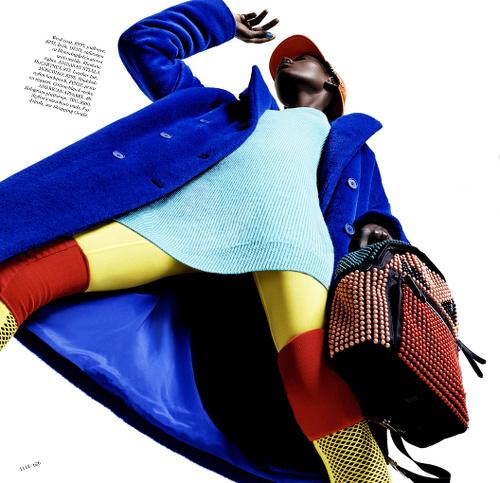 Ajak Deng Elle Magazine