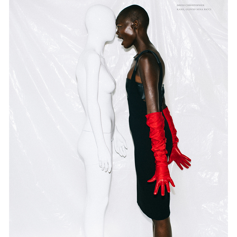 Editorials. Aluad Deng Anei. One Magazine. Images by Renata Kaveh.