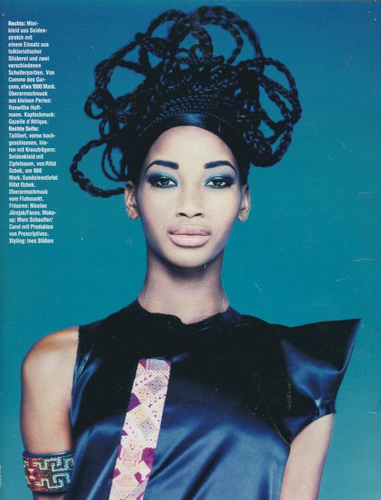 Beverly Peele Black Fashion Models