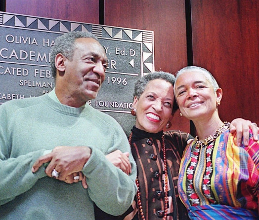 Johnetta B. Cole, Bill and Camille Cosby