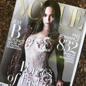 Beyoncé Covers Vogue's September Issue.