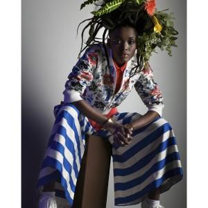 Editorials. Flaviana Matata.  Spirit & Flesh Magazine.  Images by Torkil Gudnason.