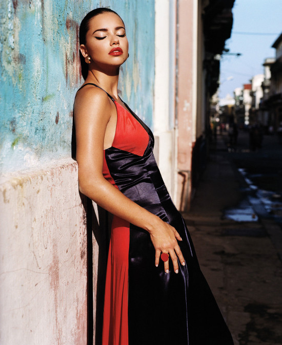 Joan Smalls Adriana Lima W Magazine Cuba