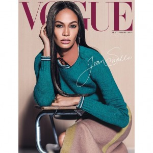 Editorials. Joan Smalls Lands 3 Covers of Vogue Mexico's September 2015 Issue.  Images by Russell James.