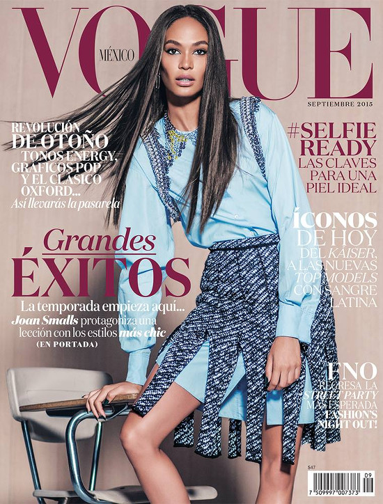 Joan Smalls Vogue Mexico Russell James