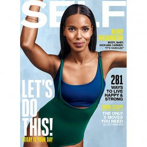 Kerry Washington Inspires Some Serious Body #Goals On the Cover of 'SELF.'