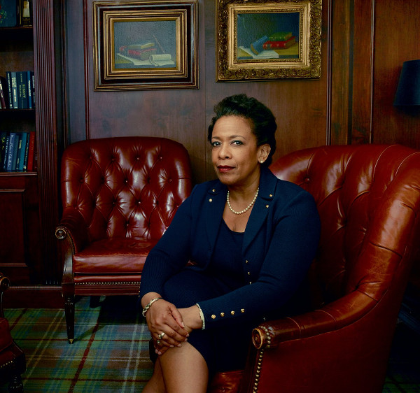 U.S. Attorney General Loretta Lynch Photographed for Vogue September 2015. Talks Family History and Early Career.