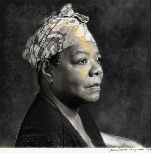 Pieces from Maya Angelou's Art Collection, With Selections From Faith Ringgold and Elizabeth Catlett Will Be Up For Auction.