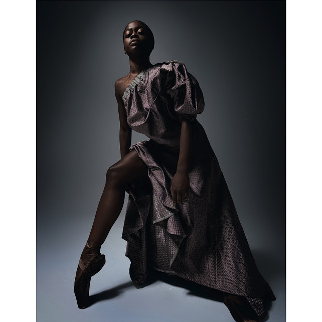 Editorials. Ballerina Michaela DePrince Dazzles in Vivienne Westwood for Dazed & Confused.