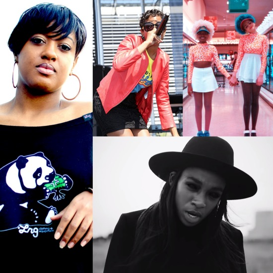 Dej Loaf, Rapsody, Barf Troop, Little Simz
