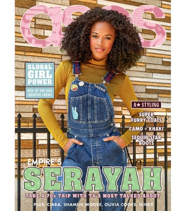 Editorials. EMPIRE's Serayah Rocks 70's-Inspired Looks For ASOS.