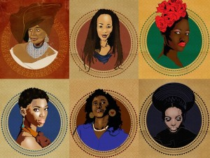 Artist Ruramai Rudo Musekiwa Celebrates Phenomenal African Women for South Africa's National Women's Day.