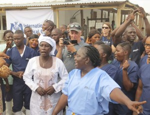 Adama Sankoh, Sierra Leone's Last Known Ebola Patient, is Discharged From Hospital.