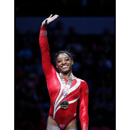 Elite Gymnast Simone Biles Makes History as the First Woman In 23 Years To Win Three National Titles.