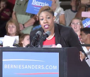 Bernie Sanders Press Secretary Symone Sanders Leaves Campaign.