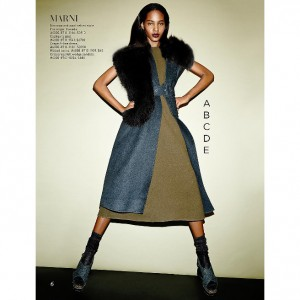 Editorials. Tami Williams for Saks Fifth Avenue.