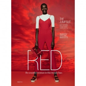 Editorials. Tricia Akello. Glamour South Africa September 2015. Images by Travys Owen.