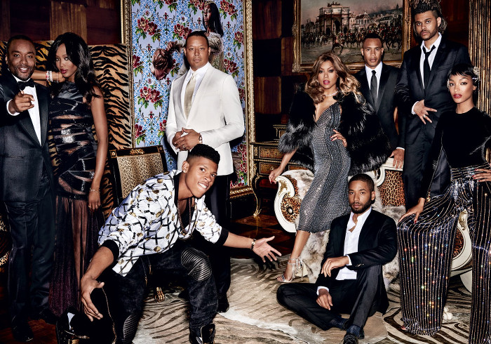 EMPIRE Vogue Testino