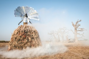 Photography Series Features Fashions Made From Trash To Raise Awareness About Pollution in Senegal.
