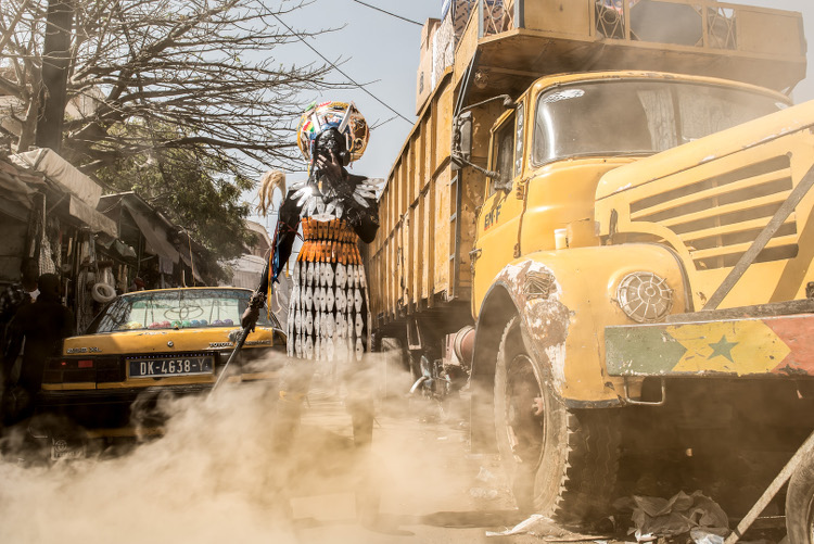 Fabrice Monteiro The Prophesy Senegal African Fashion Designers African Photographers