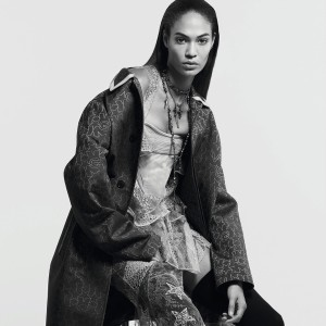 Editorials.  Joan Smalls and Riccardo Tisci. Madame Figaro September 2015.