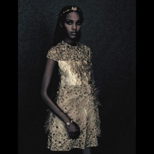 Editorials. Leila Nda. Vogue Italia September 2015.  Images by Paolo Roversi.