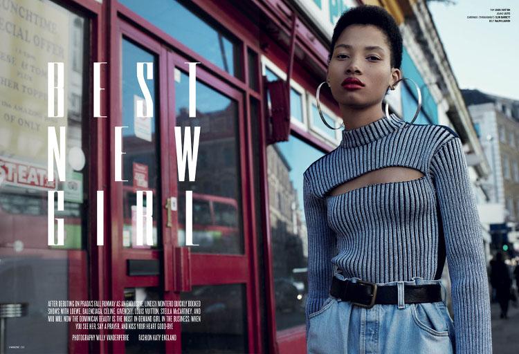 Lineisy Montero V Magazine