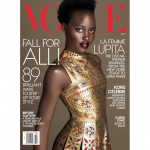 Lupita Nyong'o Stuns on Second Vogue Cover.