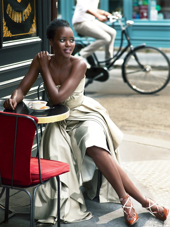 Lupita Nyong'o Vogue 2015 Mert and Marcus