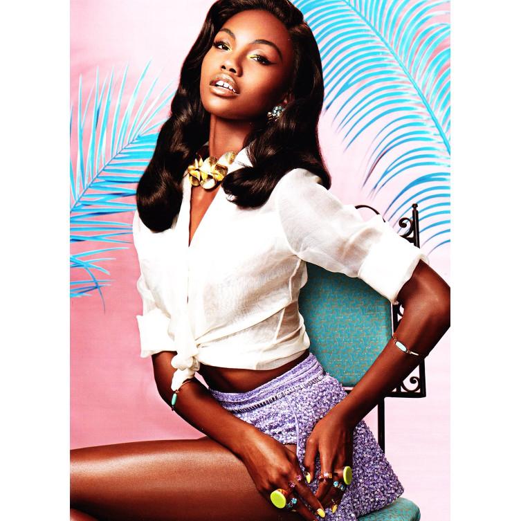 Milan Dixon Black Fashion Models