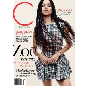 Zoë Kravitz Covers C Magazine. Talks About the Significance of Her Braids.