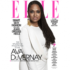 Ava DuVernay Cover Elle's 'Women in Hollywood Issue.'