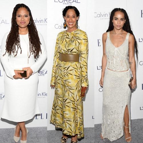 Elle Women in Hollywood, Black Celebrities, Black Fashion Blog, Black Fashion Bloggers