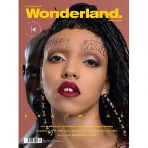 Editorials.  FKA twigs. Wonderland.  Images by Matthew Stone.
