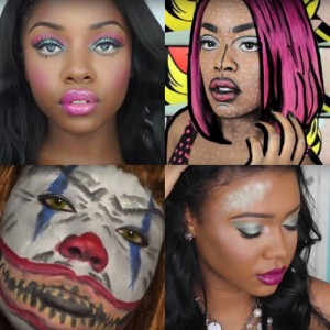 7 More Halloween Makeup Tutorials For Darker Skin Tones.