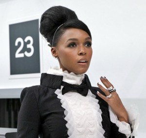 Paparazzi Files.  Janelle Monáe at Chanel During Paris Fashion Week.