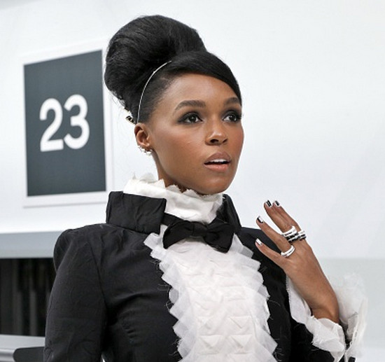 Janelle Monae Paris Fashion Week Chanel