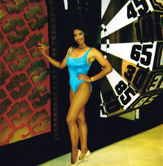Kathleen Bradley Price is Right Black Model