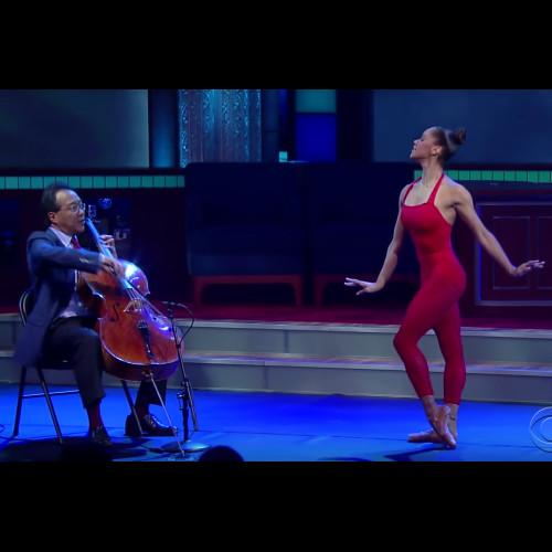 Misty Copeland Yo-Yo Ma, The Late Show With Stephen Colbert