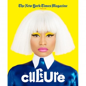 Nicki Minaj Covers The New York Times Magazine.  Talks About Why She Called Out Miley Cyrus at the VMAs.