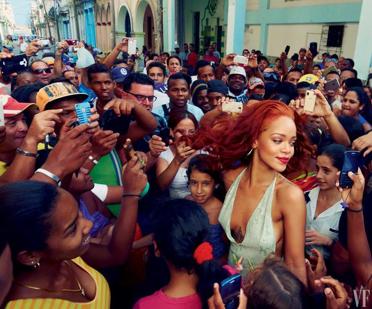 Rihanna Vanity Fair 2015