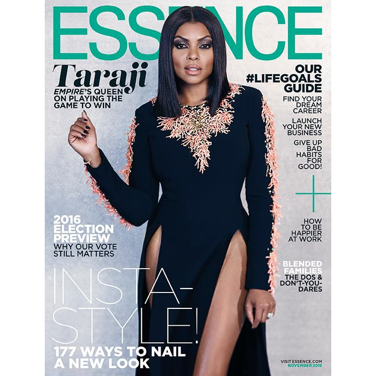 Taraji P. Henson Essence Magazine November 2015