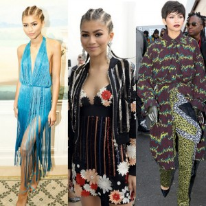 Zendaya Hits Up Paris Fashion Week.  Rocks Some Major Looks.