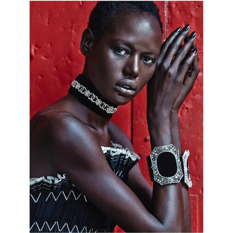 Top Model Ajak Deng Announces Her Departure From The ...