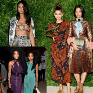 Snapshots.  Celebs, Models, and Fashion Designers at The 12th Annual CFDA/Vogue Fashion Fund Awards.