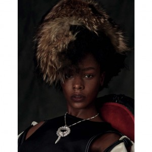 Editorials. Karly Loyce. Vogue Germany December 2015. Images by Giampaolo Sgura.