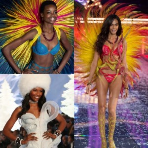 Snapshots.  Joan Smalls, Maria Borges, Sharam Diniz, and More Rock The Runway At the 2015 Victoria's Secret Fashion Show.