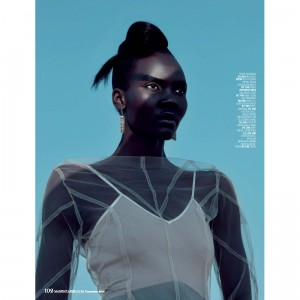Editorials. Tricia Akello. Marie Claire South Africa December 2015.  Images by Ross Garrett.